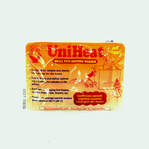 Shop Uniheat 40-72 Hour Heat Pack Shipping Material - Glass Aqua