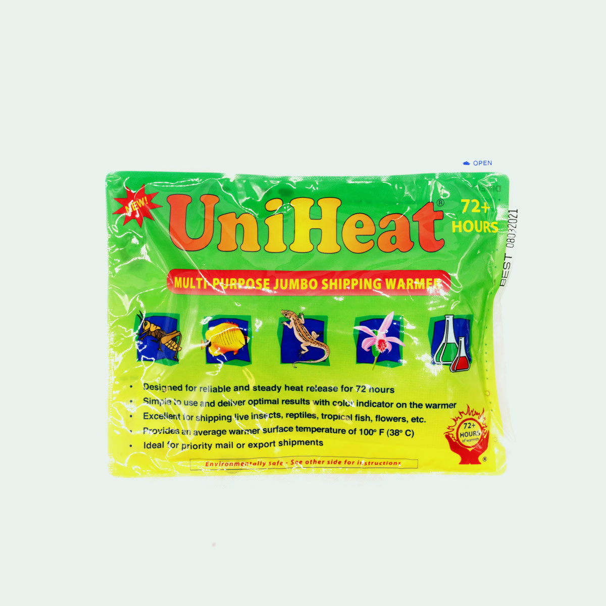 Shop Uniheat 72 HR Heat Pack Heaters - Glass Aqua