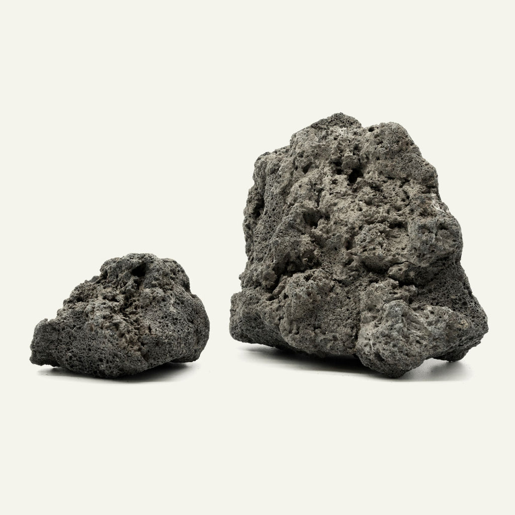 Shop Black Lava Rock Hardscape - Glass Aqua
