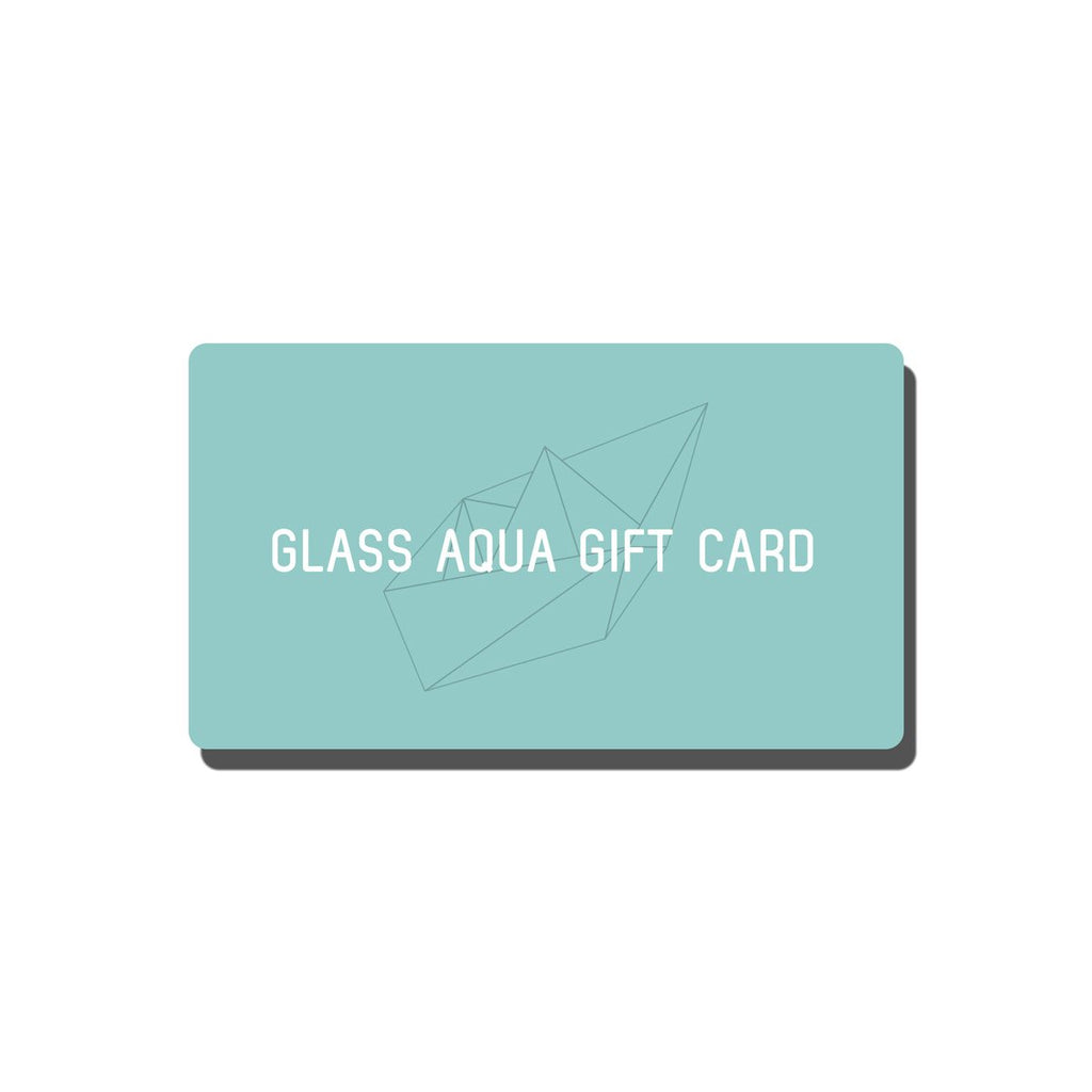 Shop Glass Aqua Gift Card Gift Card - Glass Aqua