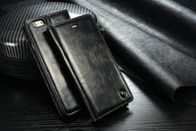 Magnet Flip Wallet iPhone Case