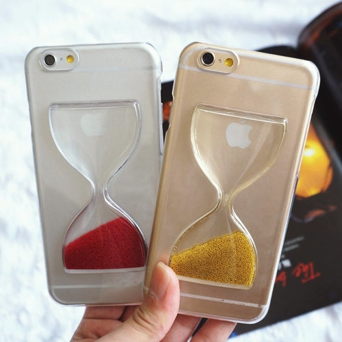 Golden Sand Clock iPhone Case