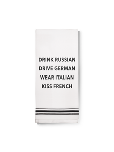 Towel- Drink Russian