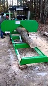 Saw Mill Sawmill Bandmill Portable 301cc Gas Engine cuts 20 in. vertical horizon 18 FREE eBooks @ Regenerating Batteries,Battery Banks