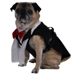 Dog Harness Tux - Black Tie