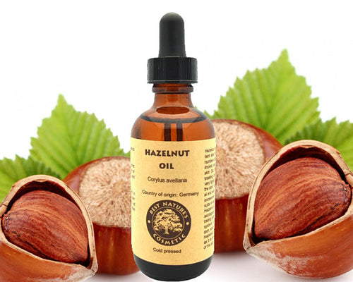Hazelnut Oil (Pure, Undiluted, Cold Pressed).