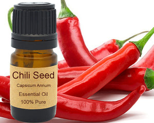 Chili Seed Essential Oil 5 ml, 10 ml or 15 ml