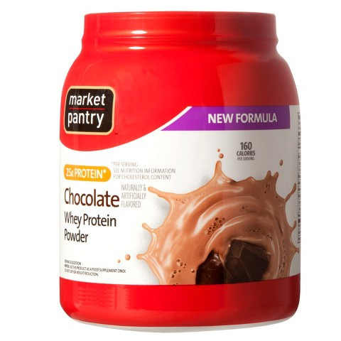 Chocolate Whey Protein Powder - 32 oz Market Pantry®