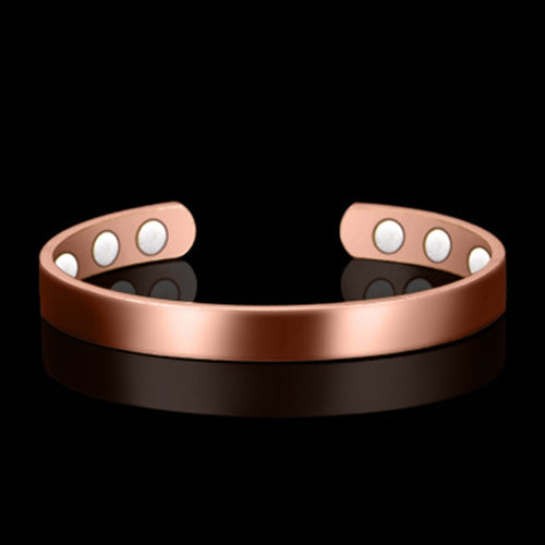 2020 New Women Magnetic Copper Bracelet Healing Bio Therapy Arthritis Pain Relief Bangle Cuff Magnetic therapy Bracelet