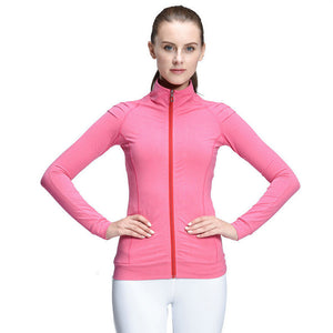 Women'S Winter Jackets Women Dry Fit Running Jacket Gym Fitness Jackets For Women Sports Yoga Jacket Long Sleeve Vest