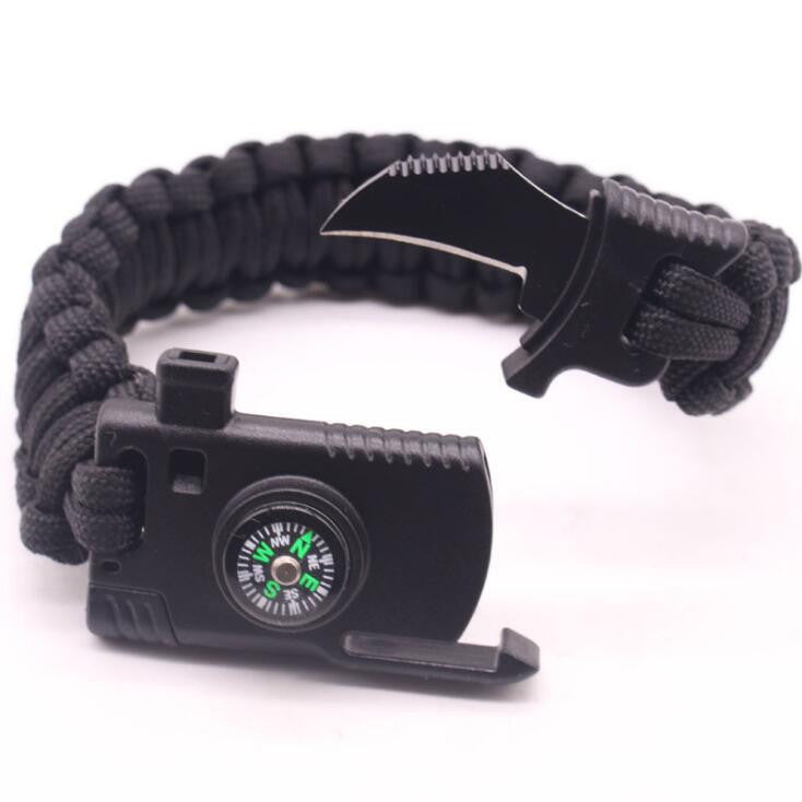 Military Outdoor Paracord Survival Bracelet