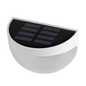 Solar Powered 6 LED Fence Light Auto ON/OFF for Gutter Outdoor Garden Yard Lamp Roof
