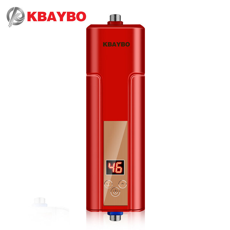 3 seconds instantaneous water heater electric shower Water Heater Tap thermostatically controlled up to 55 degrees Celsius