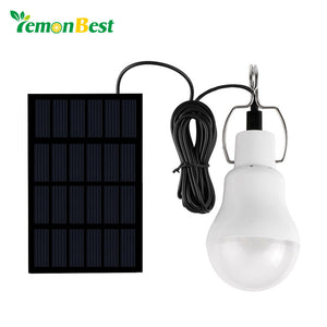 LemonBest Solar panel LED bulb LED Solar Lamp Solar Power LED Light Outdoor Solar Lamp Spotlight Garden Light