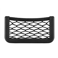 Onever Universal Small Car Seat Side Back Storage Net Bag String Bag Mesh Pocket Organizer Stick-on for wallet phone Net Bag