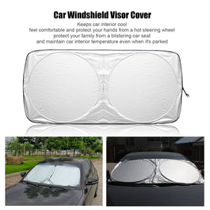 Auto Front Rear Window Sun Shade Car Windshield Visor Cover Block Sunshade Foldable Cover
