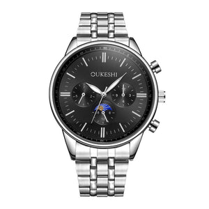 Men's Stainless Steel Quartz Analog Wrist Watch Sport Watches Gifts Luxury