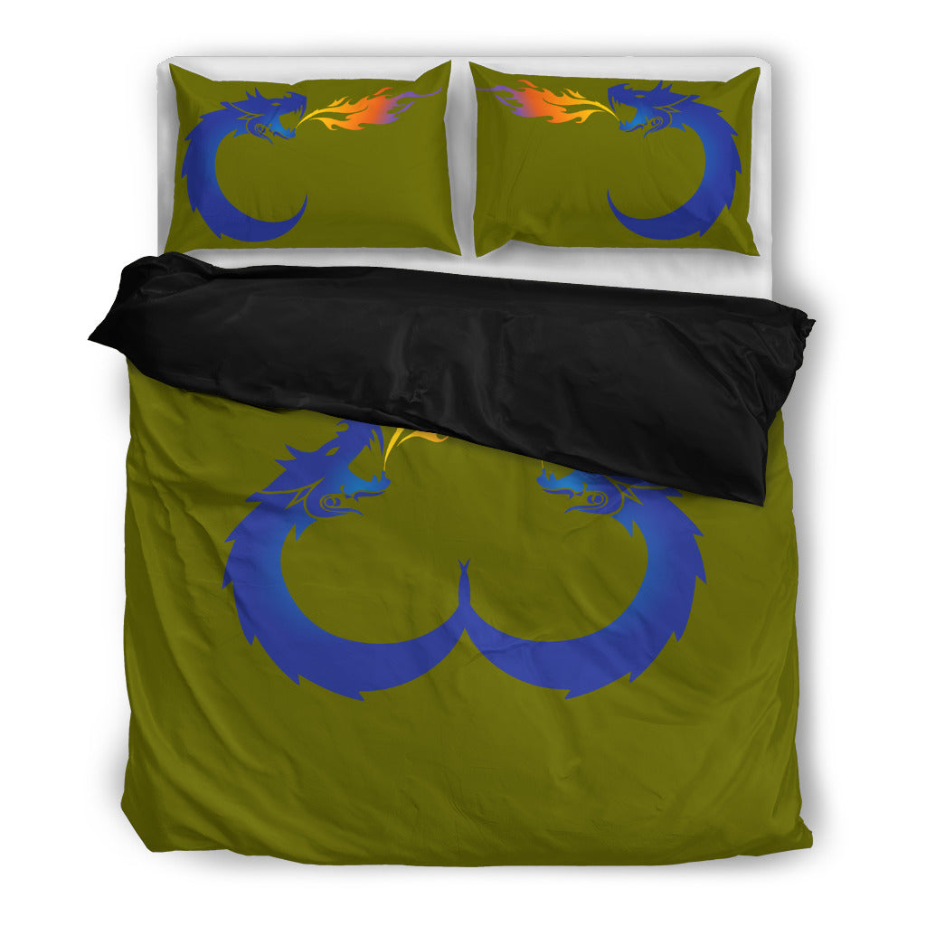 KarmaStuff-Duvet and Pillow Covers-Ouroboros (KarmaCraze)
