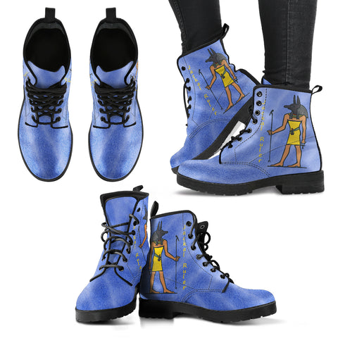 KarmaKickz-Women's Leather Boots-Anubis-Tracker Series