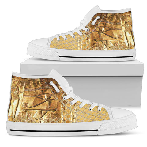 KarmaKickz-Eye of Horus-Daywalker Series -Men's High Top Shoes - KarmaCraze