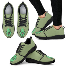 KarmaKickz-Women's Athletic Shoes-Hamsa-Nightshade Series