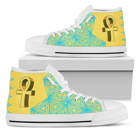 KarmaKickz-Ankh-Daywalker Series-Women's High Top Shoes - KarmaCraze