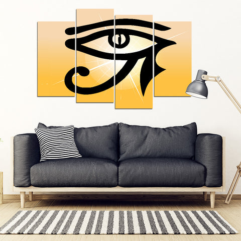 KarmaStuff- Eye of Horus-4 Piece Canvas Wall Art