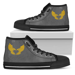 KarmaKickz-Men's High Top Shoes-Isis Goddess-Nightshade Series