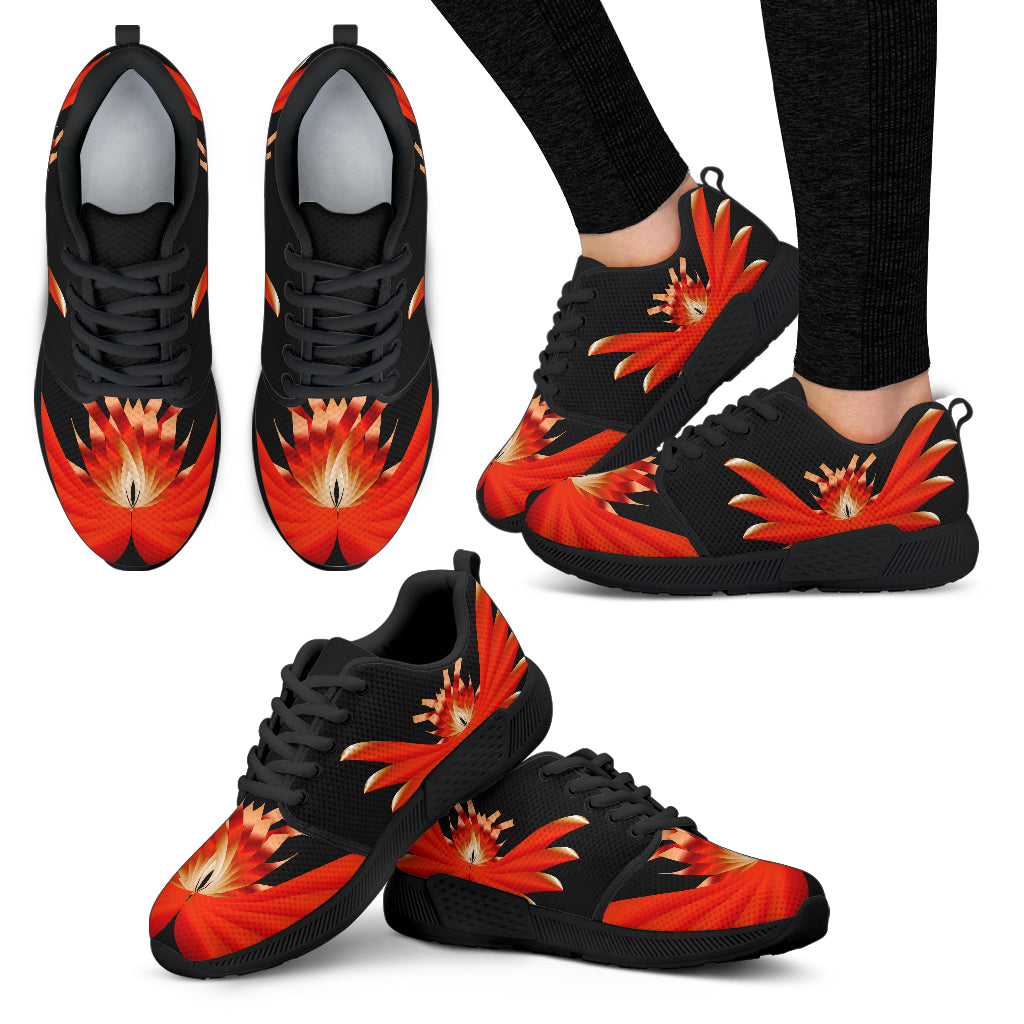 KarmaKickz-Women's Athletic Shoes-Lotus Flower-Nightshade Series
