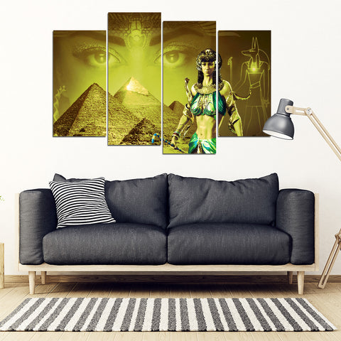 KarmaStuff- Anubis-4 Piece Canvas Wall Art