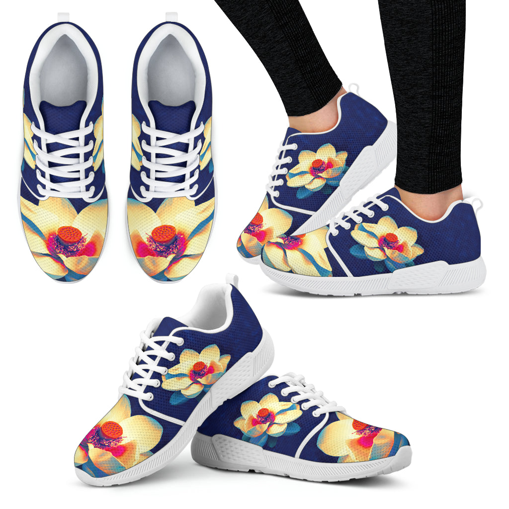 KarmaKickz-Women's Athletic Shoes-Lotus Flower-Daywalker Series