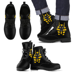 KarmaKickz-Men's Leather Boots-Anubis-Tracker Series