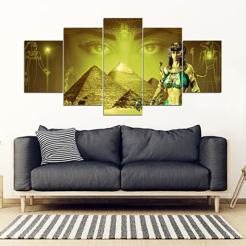 KarmaStuff- Anubis-5 Piece Canvas Wall Art
