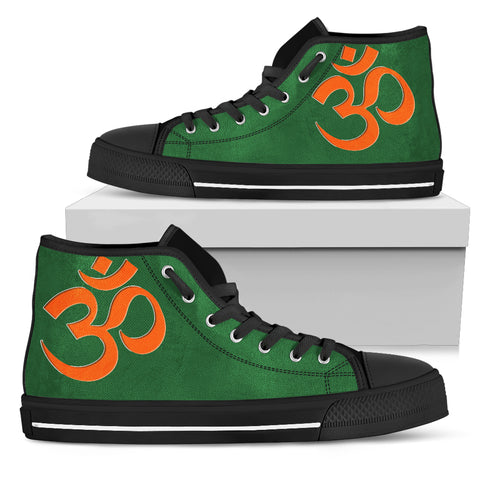 KarmaKickz-Women's High Top Shoes-Om-Nightshade Series