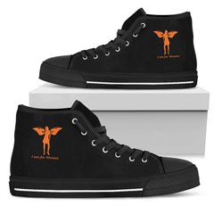 KarmaKickz-Women's High Top Shoes-Isis Goddess-Nightwalker Series