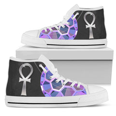 KarmaKickz-Ankh-Daywalker Series -Men's High Top Shoes - KarmaCraze