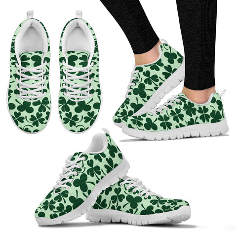 KarmaKickz-Women's Sneakers-Lucky Clover-Daywalker Series
