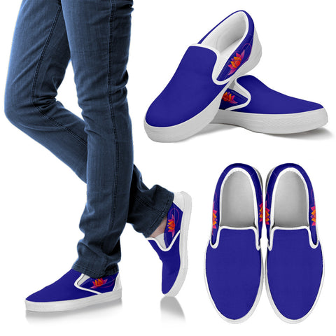 KarmaKickz-Women's Slip-ons-Lotus Flower-Daywalker Series