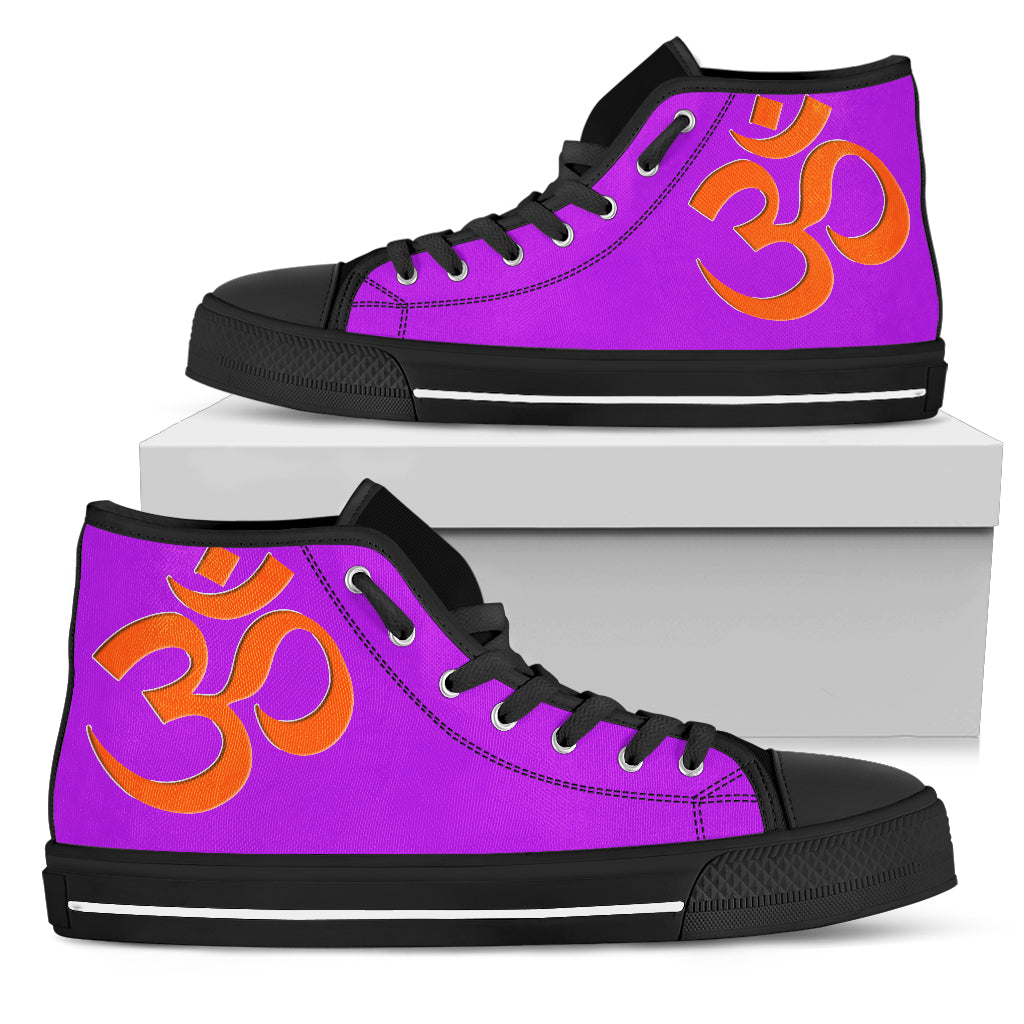 KarmaKickz-Men's High Top Shoes-Om-Nightshade Series