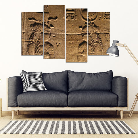 KarmaStuff- Isis Goddess-4 Piece Canvas Wall Art