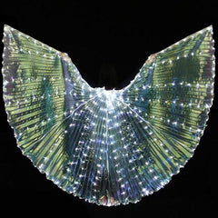 KarmaStuff- Isis Goddess-Halloween Costume-LED Wings