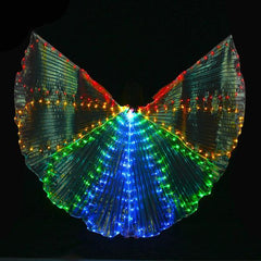 KarmaStuff- Isis Goddess-Halloween Costume-LED Wings-With Sticks