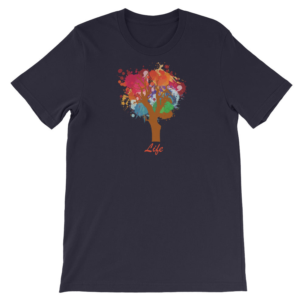 KarmaGear-T-Shirt-Tree of Life-Cotton-O-Neck-Short Sleeve -For Men