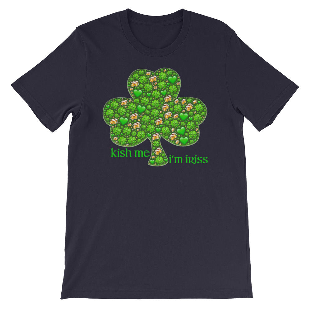 KarmaGear-T-Shirt-Lucky Clover-Cotton-O-Neck-Short Sleeve -For Men