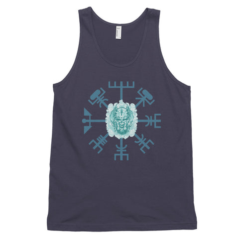 KarmaGear-T-Shirt Tank Top-Vegvisir-Cotton-For Men