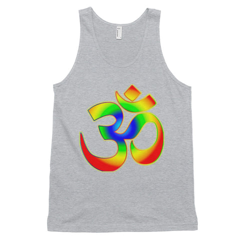 KarmaGear-T-Shirt Tank Top-Om-Cotton-For Men
