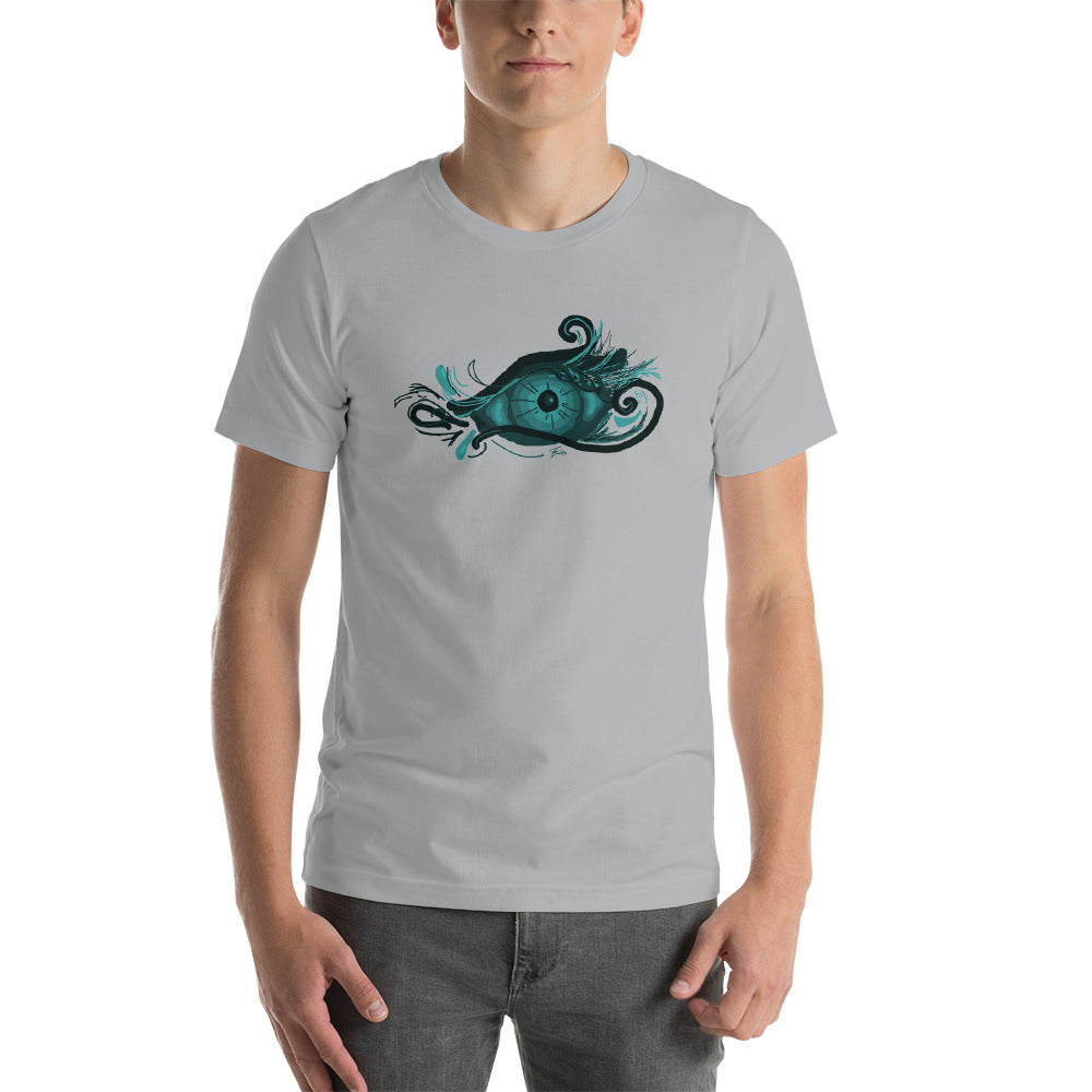 KarmaGear-T-Shirt-Eye of Horus-Cotton-O-Neck-Short Sleeve -For Men
