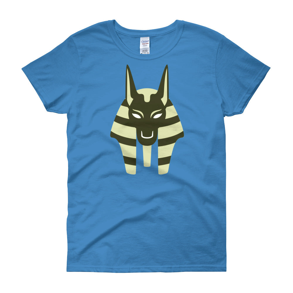KarmaGear-T-Shirt-Anubis-Cotton-O-Neck-Short Sleeve-For Women