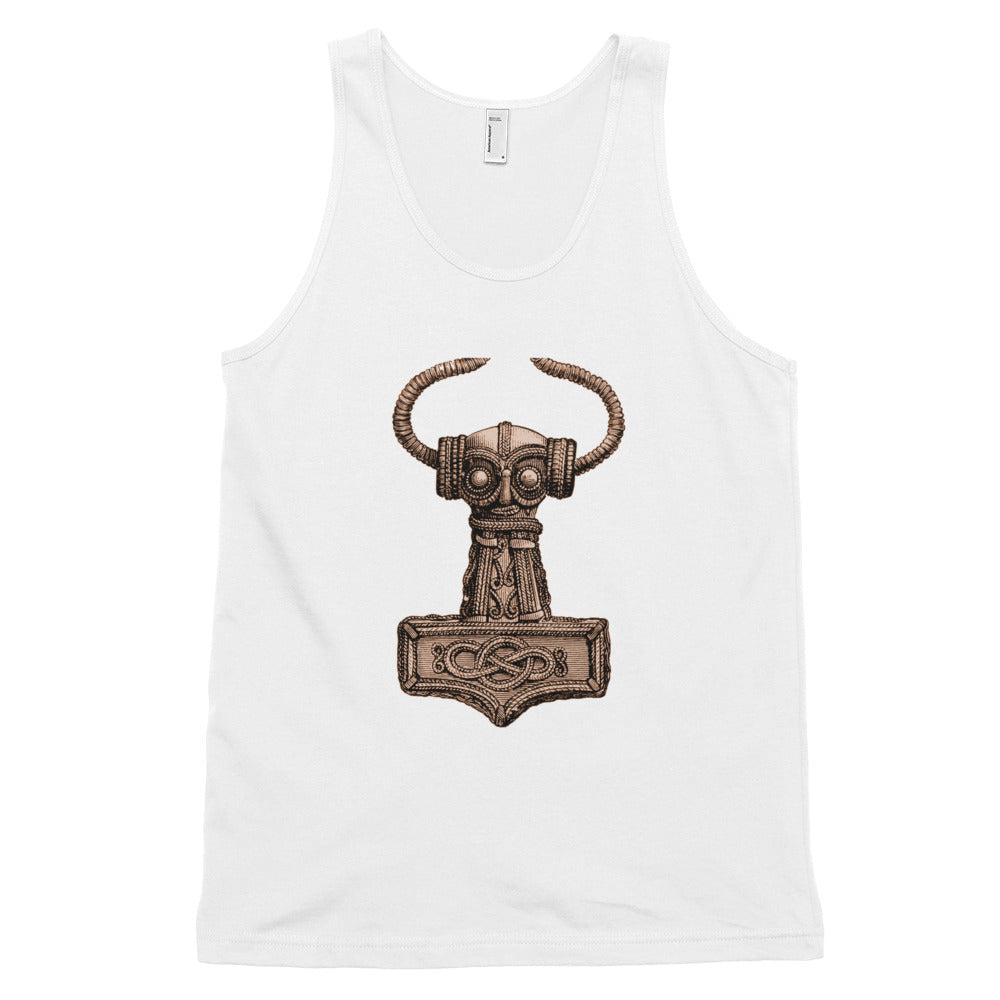 KarmaGear-T-Shirt Tank Top-Thors Hammer-Cotton-For Men