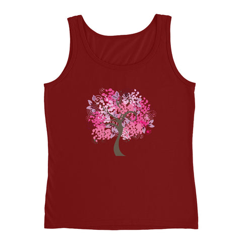 KarmaGear-T-Shirt Tank Top-Tree of Life-Cotton-For Women